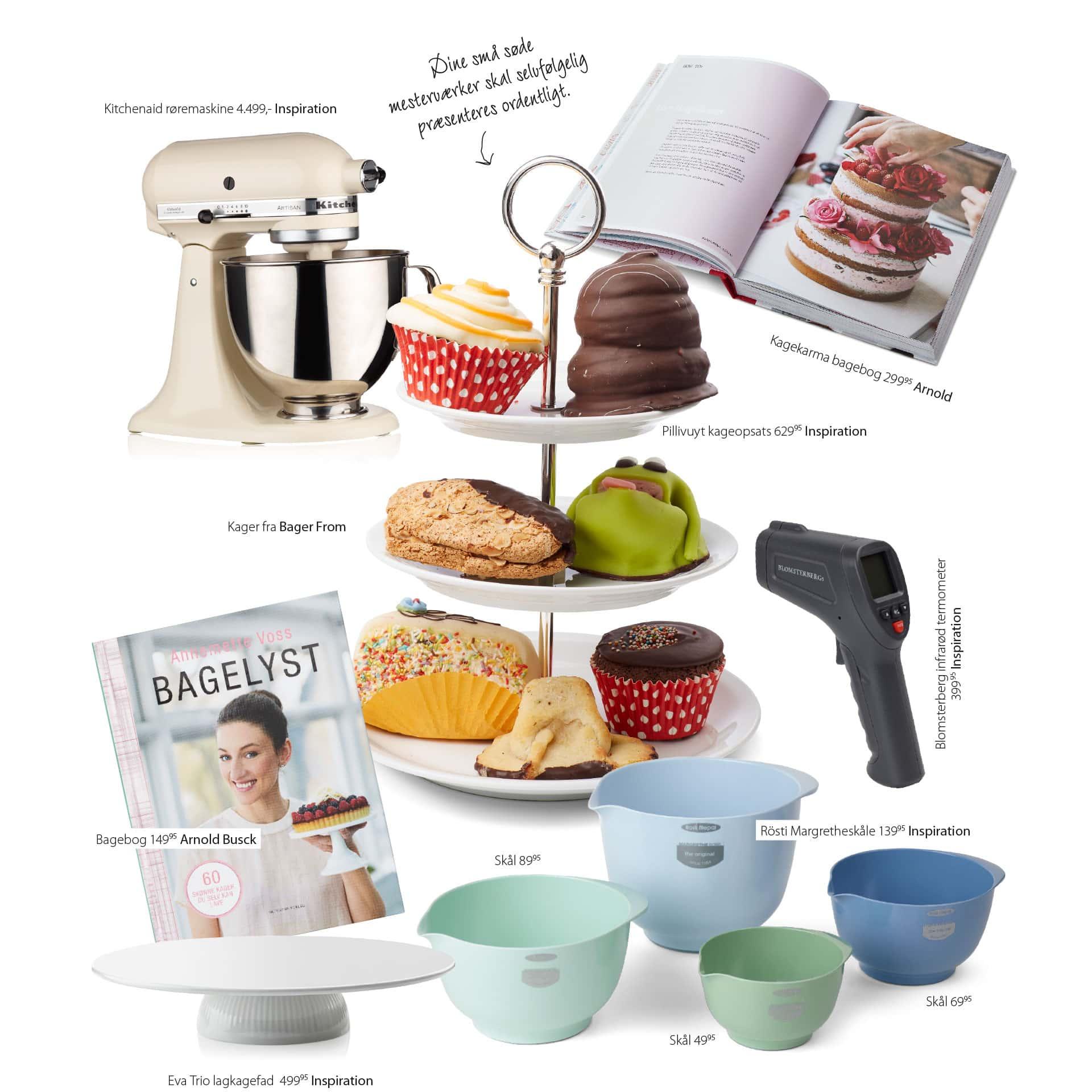 Annemette Voss kommer med inspiration til kageredskaber