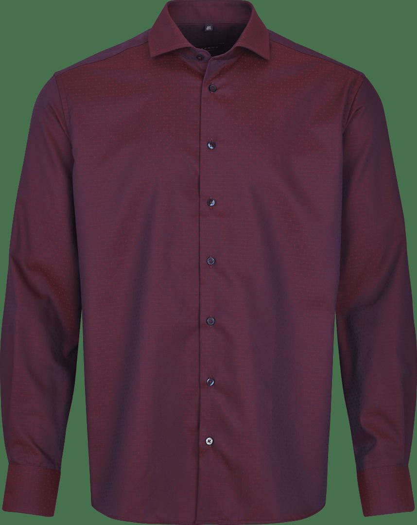 Rød Eterna skjorte fra Nielsens