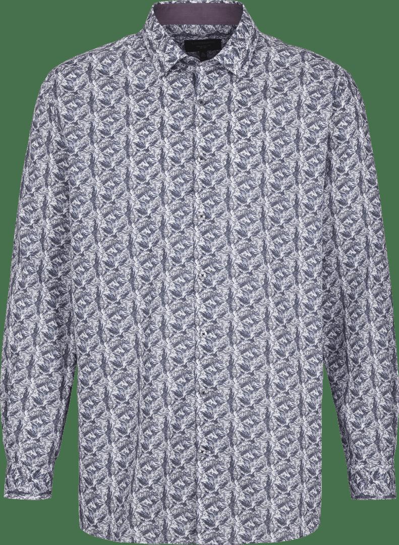 Mønstrede skjorte fra Lindbergh