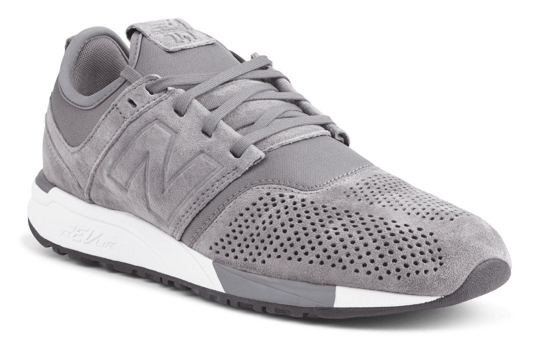 Grå New Balance sneakers fra The atlethes foot-blade runner