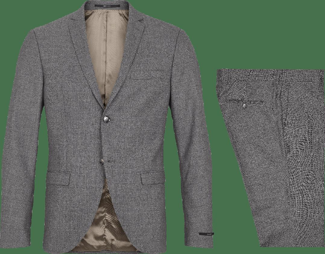 Gråt Tiger of Sweden jakkesæt fra Frederik