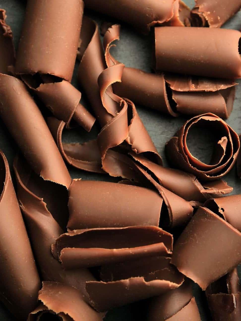 Lyse chokolade Spiraler