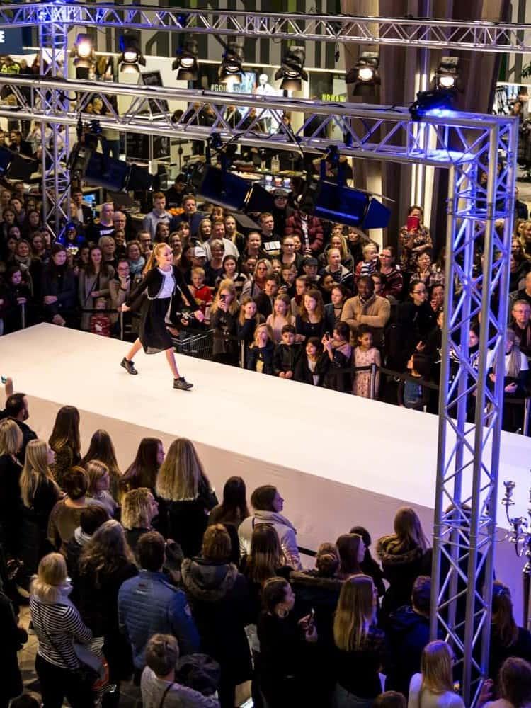 Modelcasting i Rosengårdcentret til Fyns største konfirmationshow